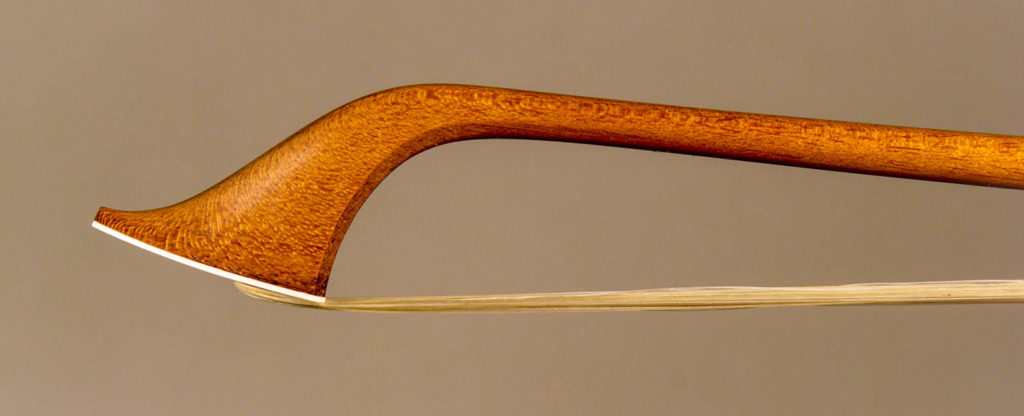 Classical Violin bow head with stick of amorette